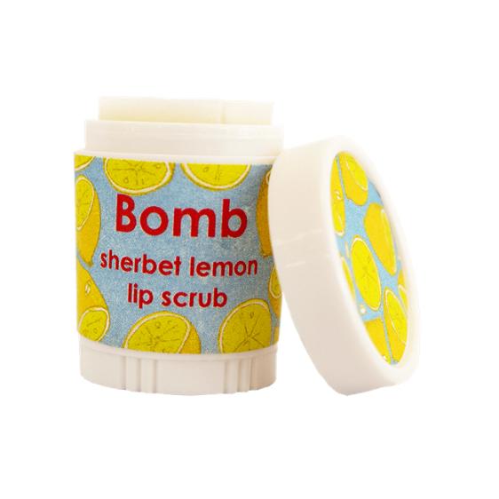 Bomb Cosmetics: Lip Scrub - Lemon Sherbet