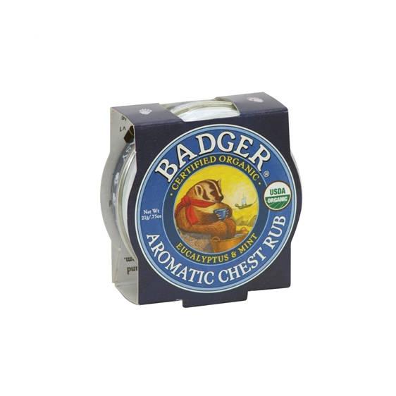 Badger: Aromatic Chest Rub - 21g