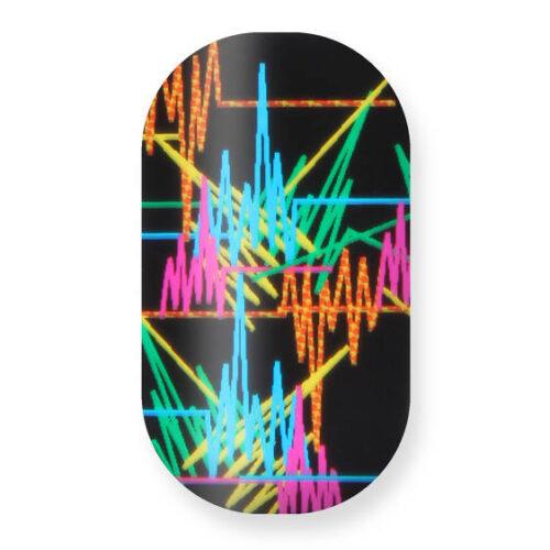 Minx: Black (Multicolour d Pulse Lines) x
